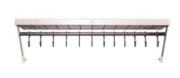 Hahn Kitchenware Hahn Premium væghylde XL 90x25x4 cm ivory