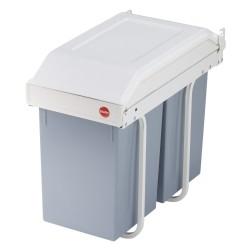 Hailo affaldsspand - Multi-Box - Hvid/Grå