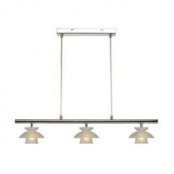Halo Design loftlampe - Safir Konference - Opal/krom