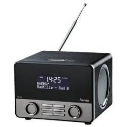 Hama DAB+ Radio BT Sort Sølv
