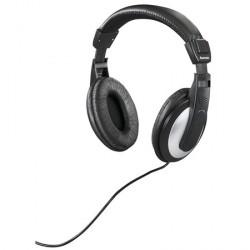 Hama HK-5619 Sort Sølv Over-Ear 6m Kabel