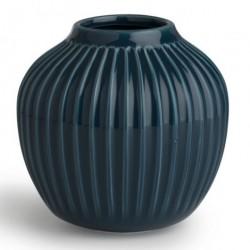 HammershØi vase (lille/petroleumsblÅ)