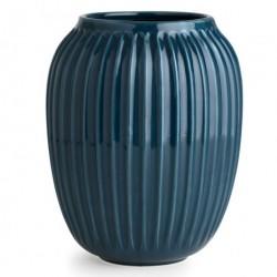 HammershØi vase (mellem/petroleumsblÅ)