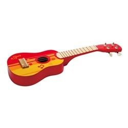 Hape guitar rød