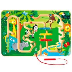 Hape magnetisk labyrint - Jungle