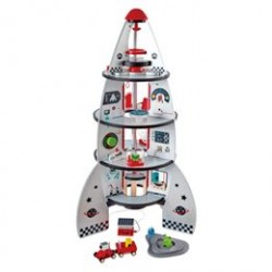 Hape rumstation - Four-Stage Rocket Ship