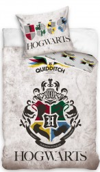 Harry Potter Quidditch Sengetøj 140x200 cm