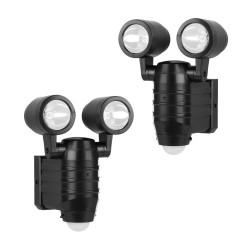 Haws dobbelt sensorlampe - 2 stk