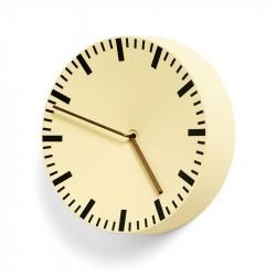 HAY Analog Clock Light Yellow