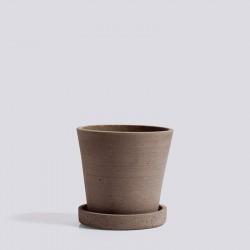 HAY Flowerpot With Saucer S Terracotta