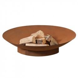 HEAT Schalen bålfad - rust farve i stål, (flere størrelser) Ø: 80 cm