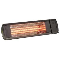 Heat1 terrassevarmer - Vægmodel 212-316 - Antracitgrå