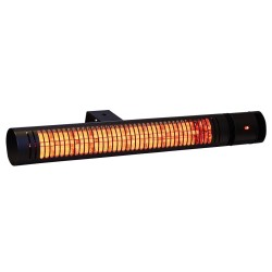 Heat1 terrassevarmer - Vægmodel 212-320 - Sort