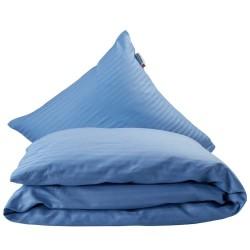 Helårsdyne & pude inkl. sengetøj - Dunlopillo - Pastelblå
