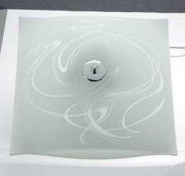 Helsingör Loftslampe hvid 44 cm