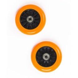 Hjul til Trick Løbehjul 100 mm - Sort/Orange