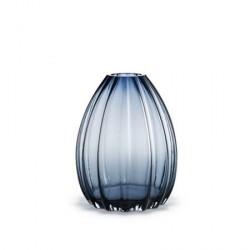 Holmegaard 2Lips Vase, blå, H 34 cm