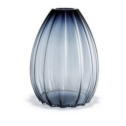 Holmegaard 2Lips Vase, blå, H 45 cm