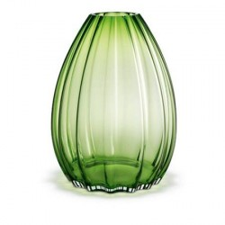 Holmegaard 2Lips Vase, grøn, H 45 cm