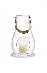 Holmegaard DWL Lanterne, klar, H 24,8 cm