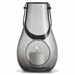 Holmegaard dwl lanterne (smoke/h25 cm)