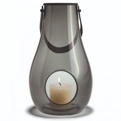 Holmegaard dwl lanterne (smoke/h29 cm)