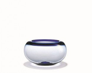 Holmegaard Provence Skål, blå, 25 cm