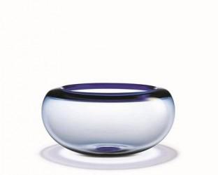 Holmegaard Provence Skål, blå, 31 cm