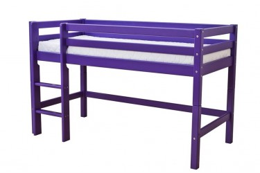 HoppeKids My Color Halvhøj seng - Lilla