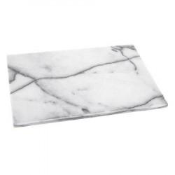 Horwood Rektangulær bakke marmor