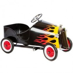 Hot Rod pedalbil i metal