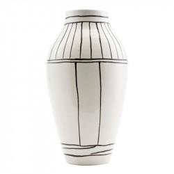 House Doctor Outline Vase White