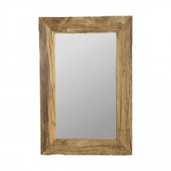 HOUSE DOCTOR Pure Nature spejl - spejlglas m. ramme af genbrugstræ (90x60)