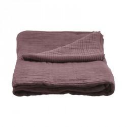 House doctor sengetÆppe, lia, bordeaux (b140 cm)