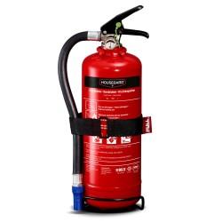 Housegard pulverslukker - 2 kg - Rød