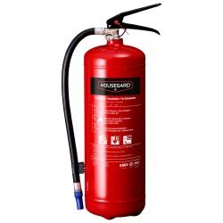 Housegard pulverslukker - 6 kg - Rød