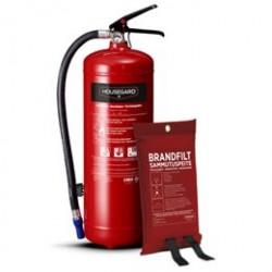 Housegard pulverslukker og brandtæppe - Safety Box
