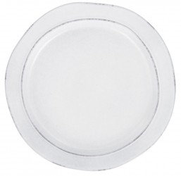 IB LAURSEN frokosttallerken - gråt stentøj