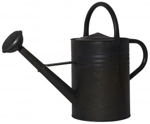 Ib laursen vandkande rund sort zink 11 ltr