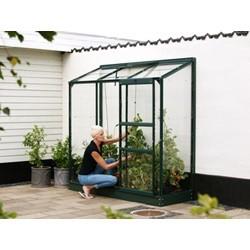 Ida vægdrivhus 1300 Grøn-Glas