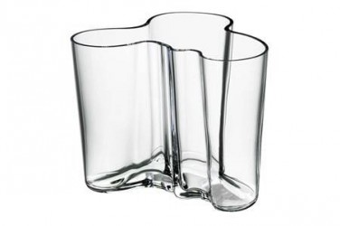 iittala Aalto Vase 120 mm klar
