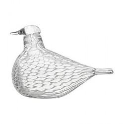 iittala Birds by Toikka fredsduva hvid 160x110 mm