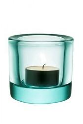 Iittala Kivi lysestage 60mm vandgrøn /gavepakning