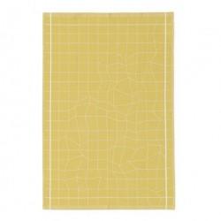 Illusion viskestykke (gul)