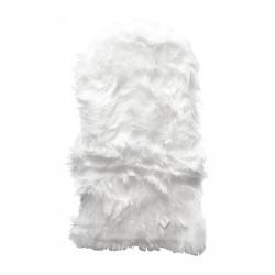 Imiteret Lammeskind - 90 x 60 cm - Hvid