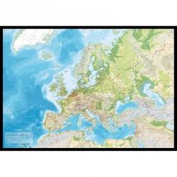 Incado pin board europakort (115x163cm)