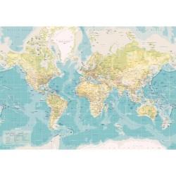 Incado verdenskort - Retro