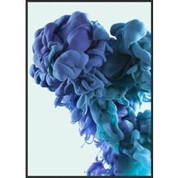 INKED; Mushroom Cloud, Blue