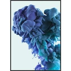 INKED; Mushroom Cloud Blue