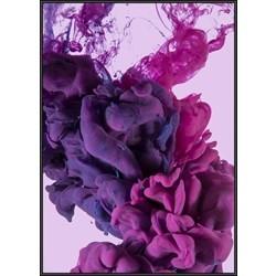 INKED; Mushroom Cloud, Purple